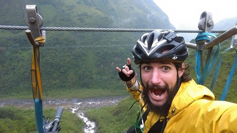 Juan Dual, 7000 kms de aventura y la experiencia de viajar en bici por Latinoamérica