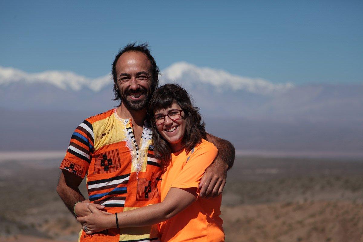 Lidia y Javi de Van Travellers en su vuelta al mundo en furgoneta