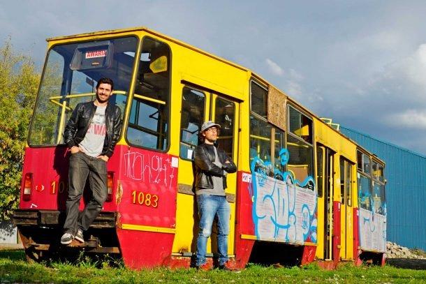 MochilerosTV en Varsovia, Alberto e Iosu