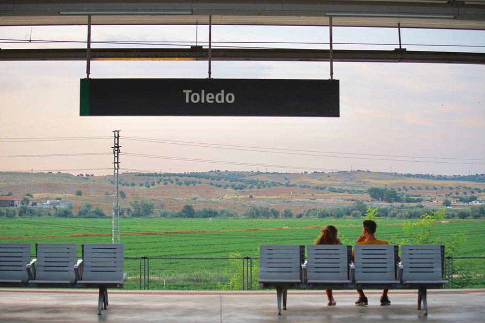 Estación del tren RENFE de Toledo