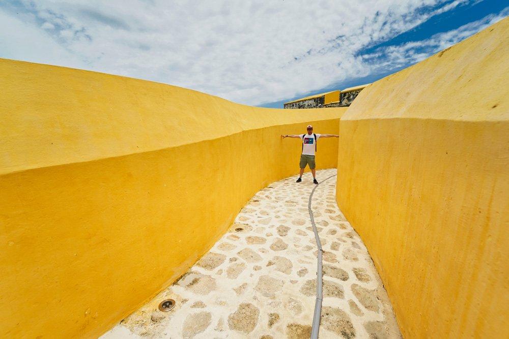 Que ver en Campeche: el Fuerte de San José El Alto