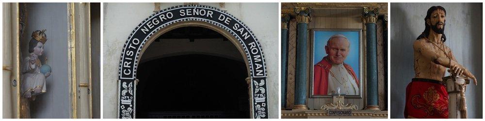 Que ver en Campeche: iglesia del Cristo Negro de San Román