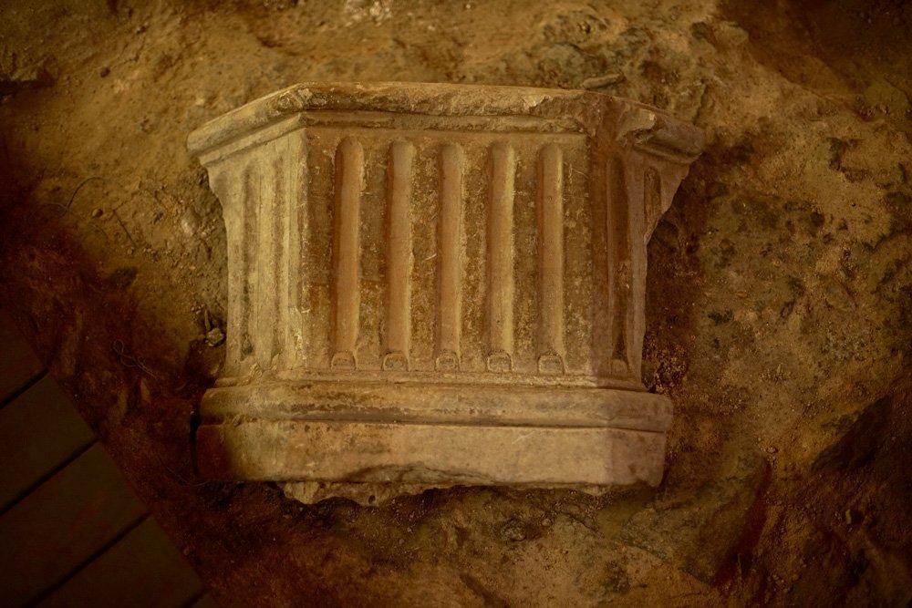 Termas romanas Amador de los Ríos en Toledo
