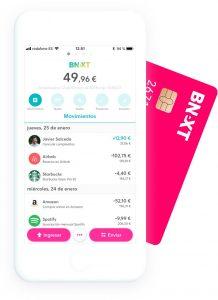 App de Bnext, una de las mejores tarjetas para viajar