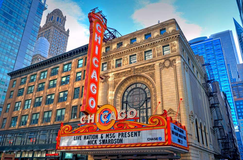 De entre las cosas qué ver en Chicago asiste a un musical en el mítico Theater of Chicago