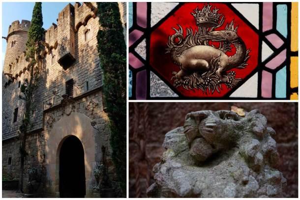 Castillo de Juego de Tronos Barcelona