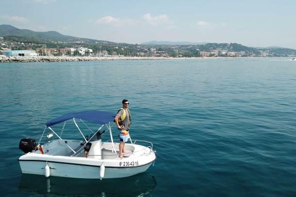 alquiler barco CN el Balís Maresme