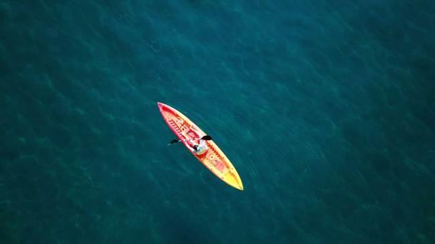 actividades acuáticas y de vela en la costa del Maresme