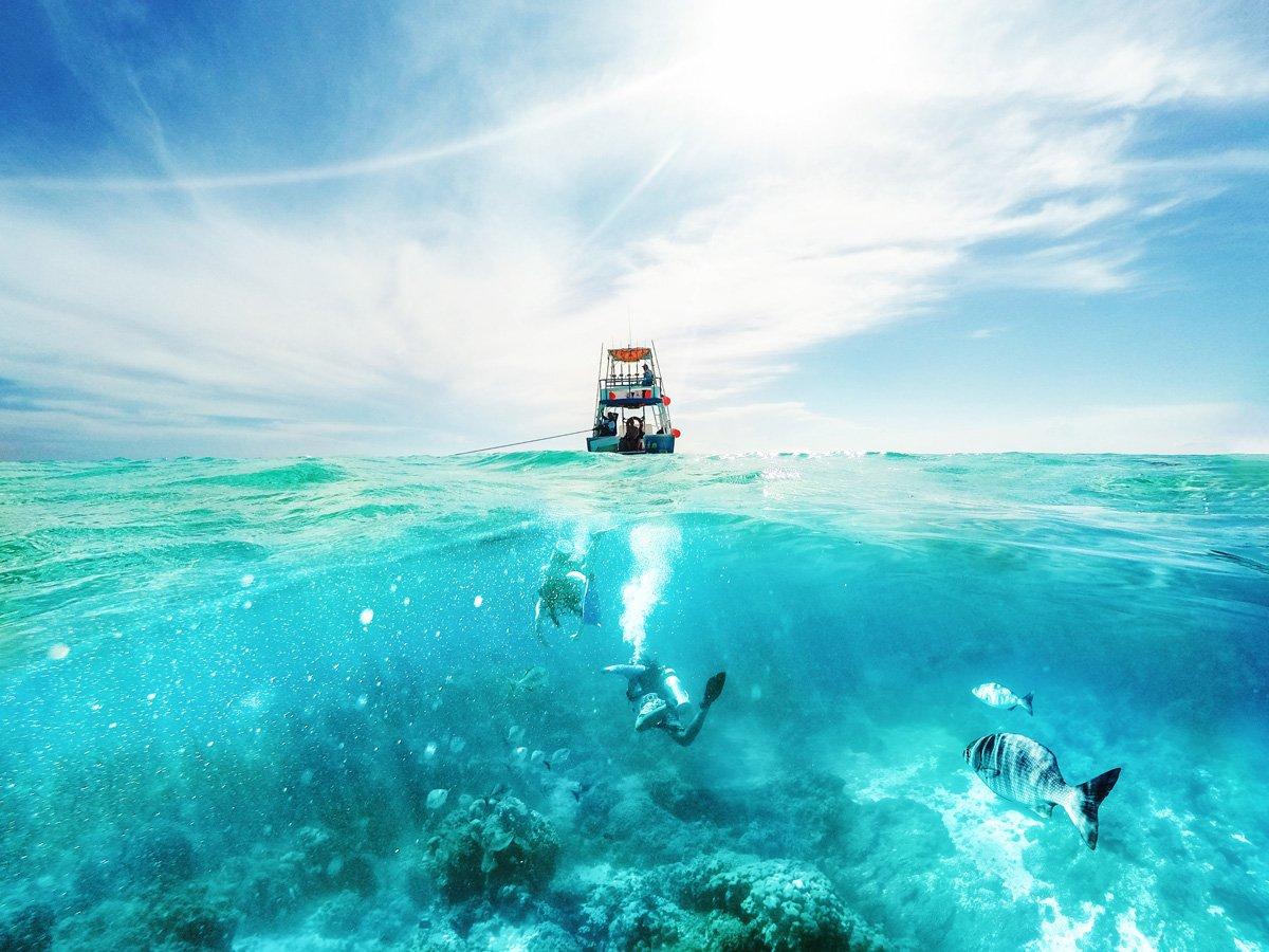 mejores excursiones en Riviera Maya, hacer buceo en Cozumel