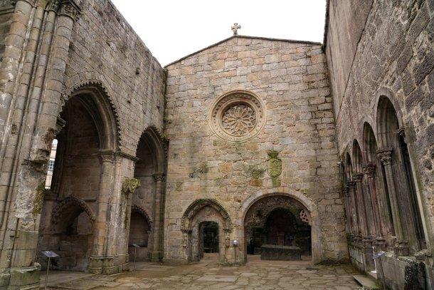 museo de Pontevedra ruinas convento santo domingo