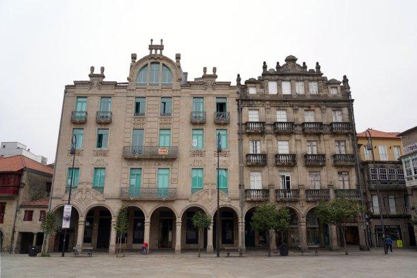 que ver en Pontevedra: Plaza Ferreria