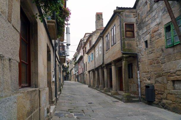 zona vella Pontevedra