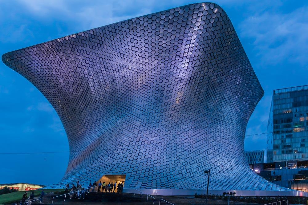 Cosas gratis que hacer en Ciudad de México: visitar el Museo Soumaya