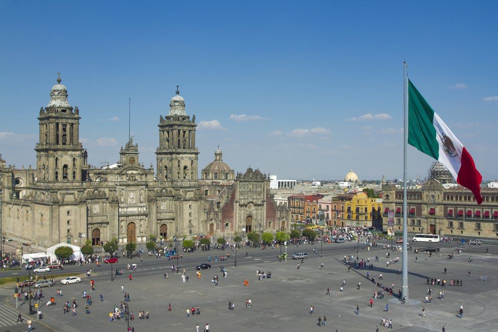 Catedral metropolitana y Zócalo de Ciudad de México