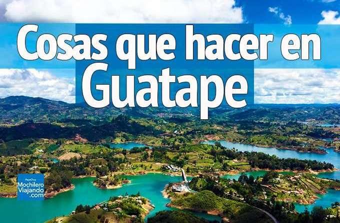 Qué hacer en Guatapé