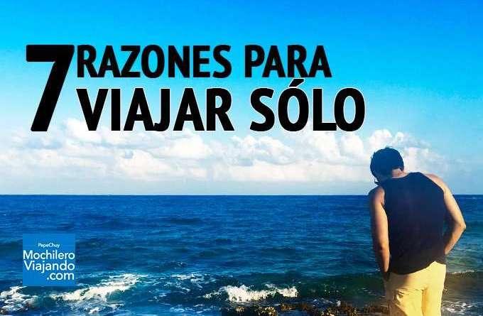 razones para viajar solo