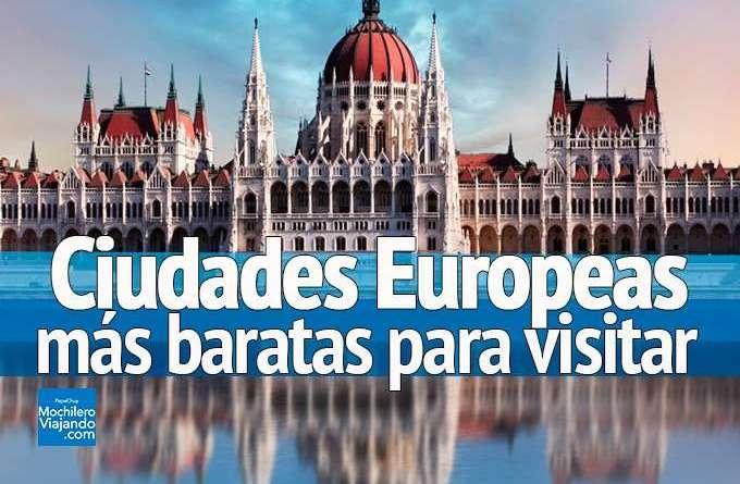 ciudades europeas mas baratas para visitar