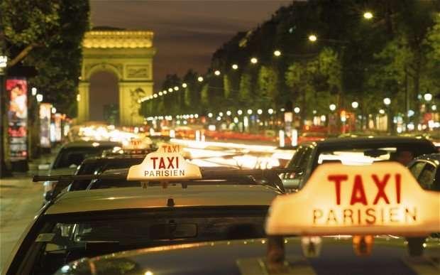 cuánto cuesta viajar a parís - taxi