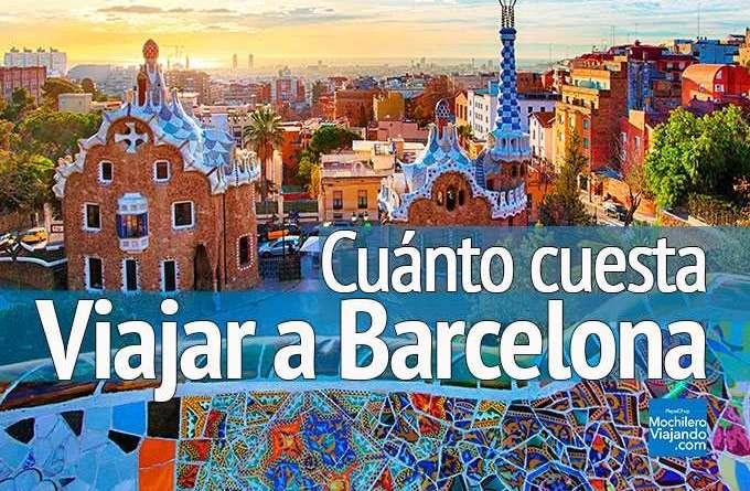 Cuánto cuesta viajar a barcelona españa