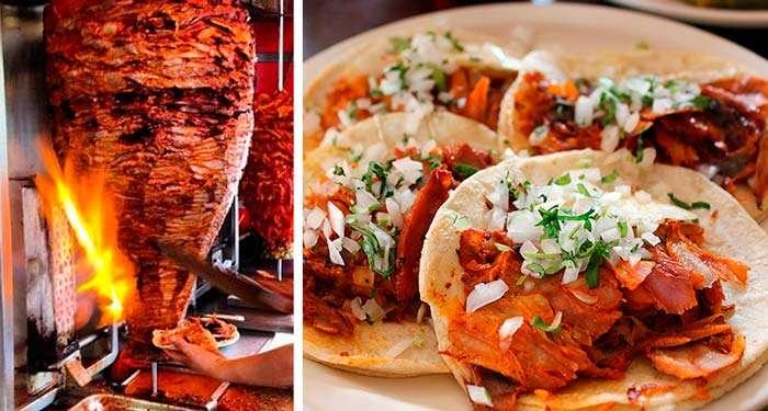 comida mexicana - tacos de pastor