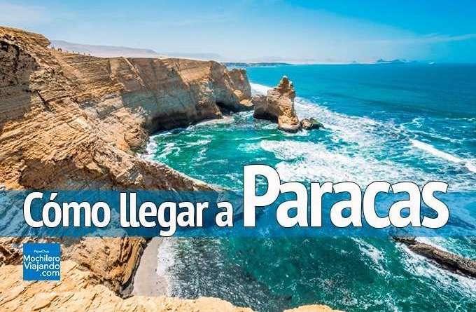 cómo llegar a paracas