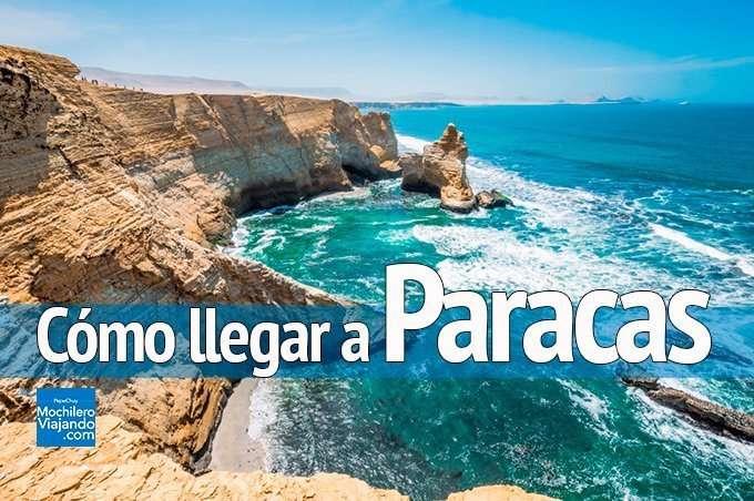 llegar a paracas