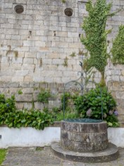 Muro que separa a Sé e o Museu Guerra Junqueiro
