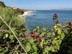 Praia de Canexol vista da Rota Sul