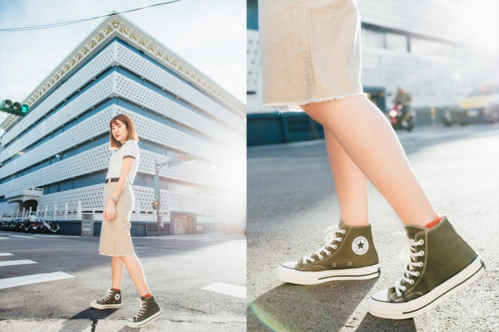 Converse 1970穿搭|經典百搭帆布鞋!女生低/高筒帆布鞋顯瘦穿搭+團購優惠
