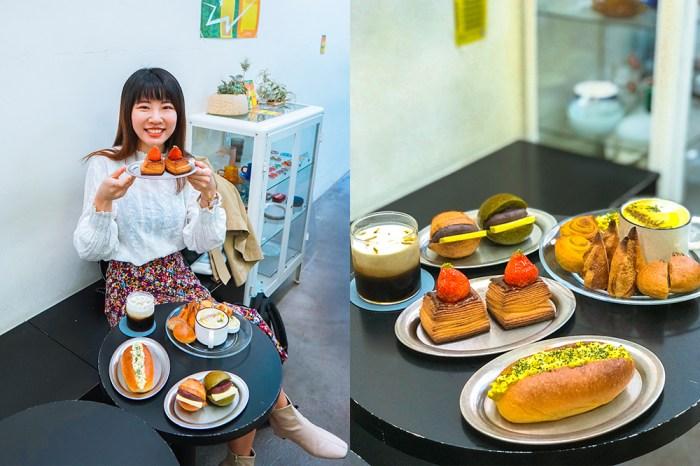 大安站咖啡廳 moon baking:台北超好吃麵包店,大推抹茶紅豆圓法!菜單價格@捷運大安站
