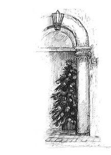 Roma・ナターレ(クリスマス)/ 画 望月麻里 illustrated by (C) Mari Mochizuki.