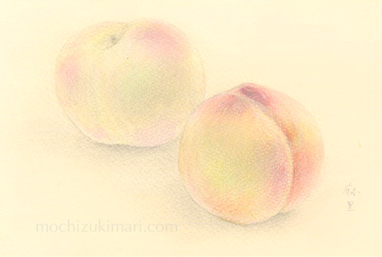 sold out「東北の思い出」望月麻里(鉛筆、色鉛筆)素材:アラベール(画用紙のような質感)illustrated by Mari Mochizuki