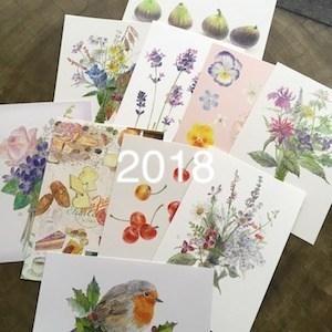 NEWS:2018年7/14(土)清泉女学院バザーに絵葉書を出品。