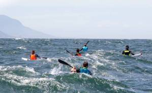 Cape Town Downwind Close Racing