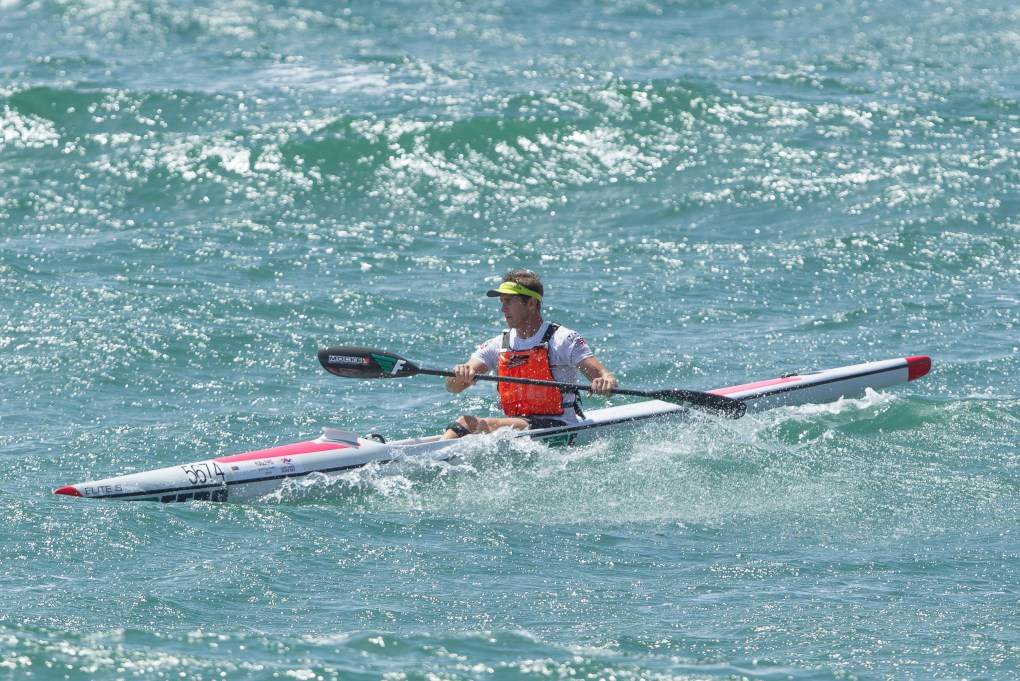 Dawid Mocké powered his way to the Mazars South African Surfski Championship title in December 2015