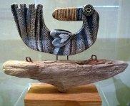 Ceramic Bird On Wood Ceramic © Jan Lane