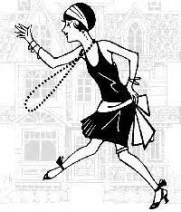 Flapper Girl Dancing