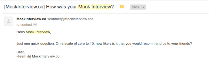 mock interview data science