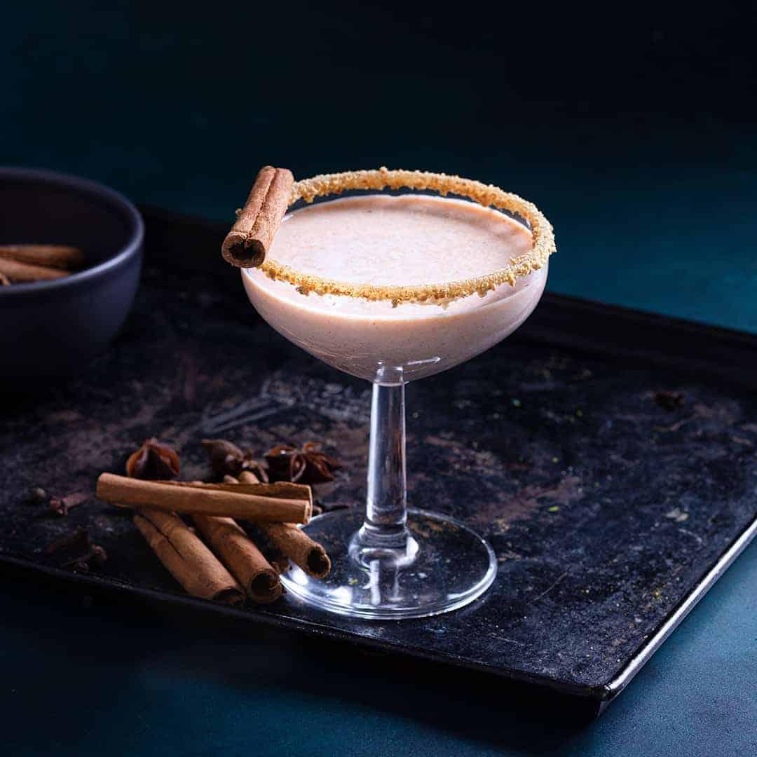 Pumpkin Pie Martini Mocktail