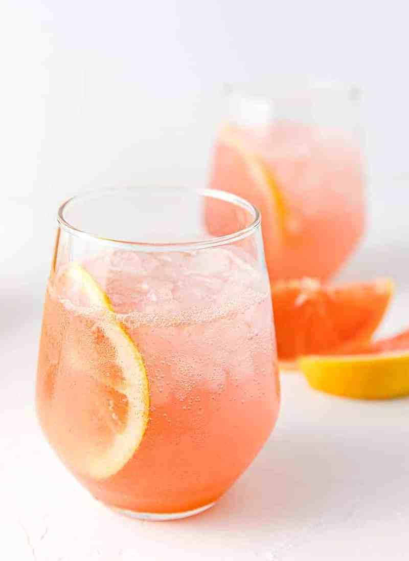Non-Alcoholic Paloma - Mixed Drink Recipes