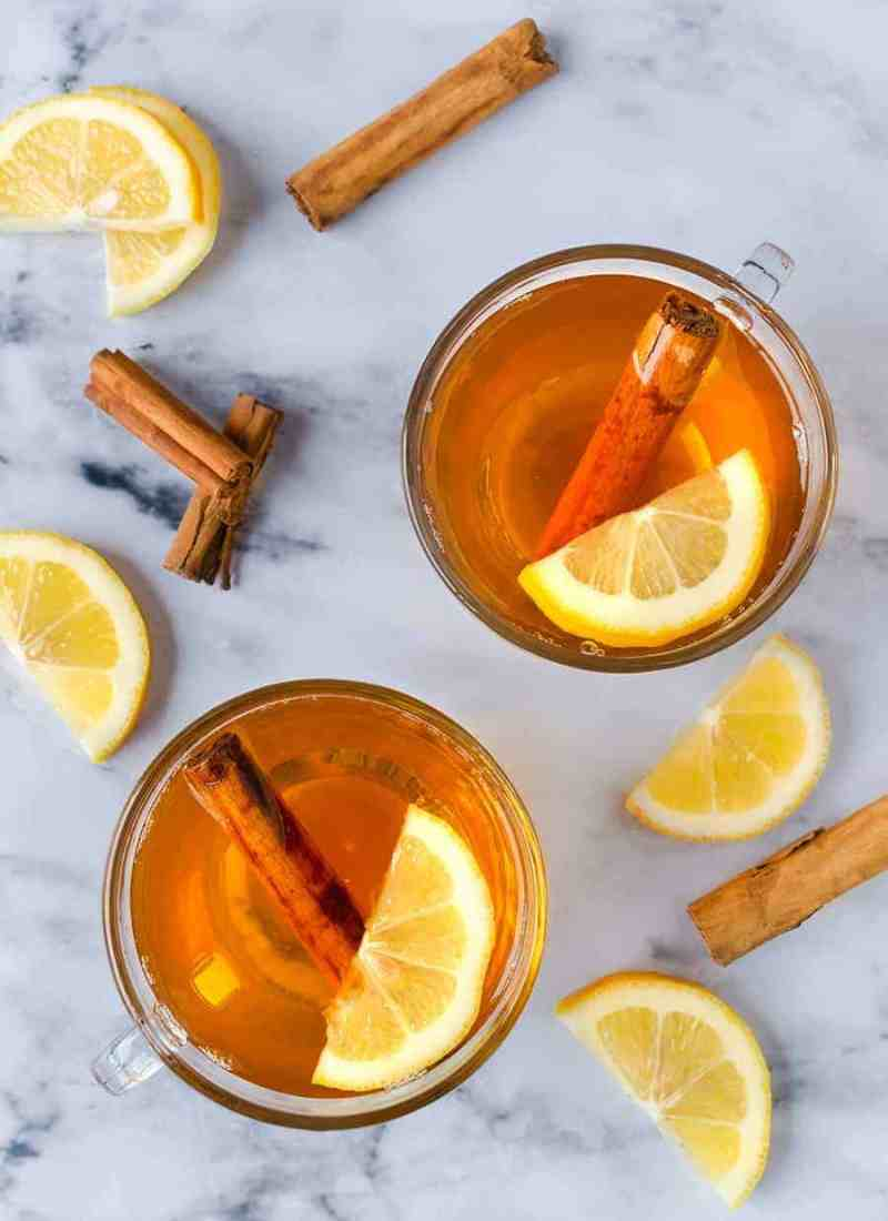 Non Alcoholic Hot Toddy: One sip of this delicious hot toddy will cure any cold or illness!