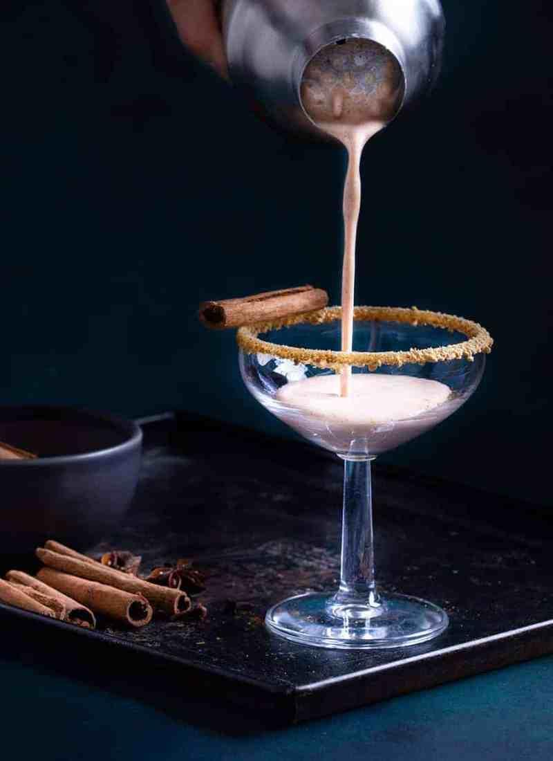Pumpkin Pie Martini Mocktail - Easy Mocktails Recipes - Smoothies Online