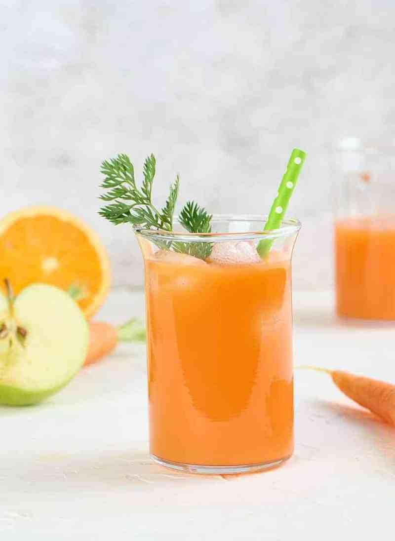 Orange Carrot Juice Recipe