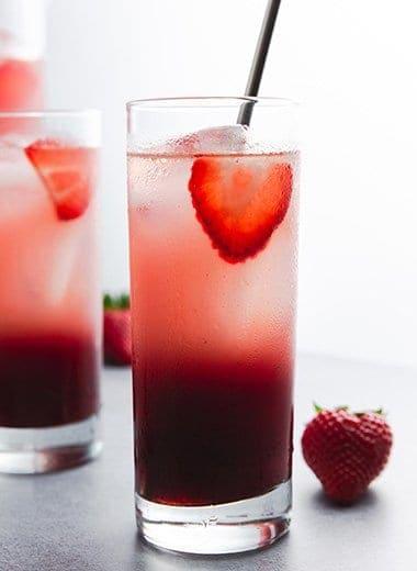 Cool Strawberry Acai Refresher Recipe