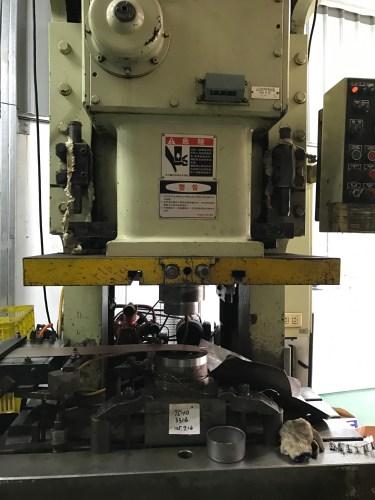 Stamping Equipment of JIERCHEN Mockup
