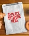 Paper Bag With Food Mockup Mockup Love
