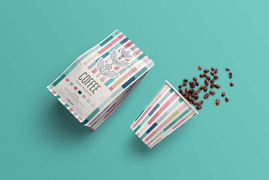 Download Free Coffee Packaging Mockup (PSD) - MockupBase