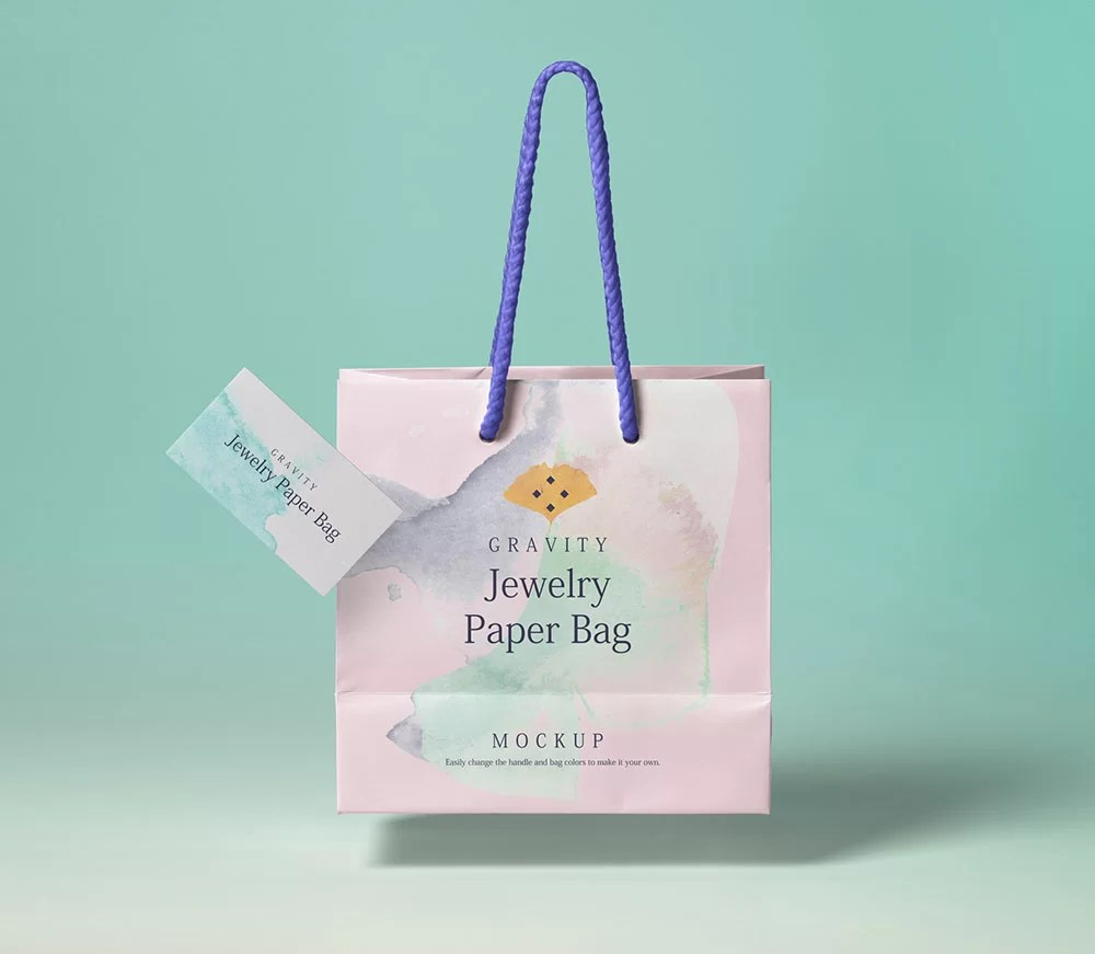 Today i'm bringing before you 100+ free outdoor advertisements branding hoarding, signage and billboard mockup psd files. Free Jewelry Paper Bag Mockup Mockup City