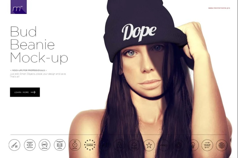 Round neck tee free placeit mockup. 25 Best Beanie Mockup Psd For Branding Mockupcloud