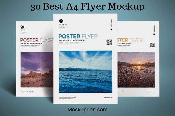 ✓ free for commercial use ✓ high quality images. 40 Free A4 Flyer Mockup Psd Templates For Marketing